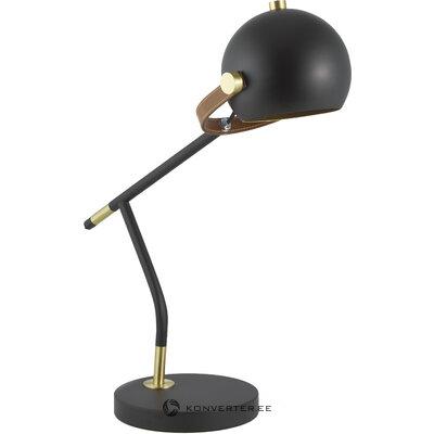 Настольная лампа лук чёрная (анета) (целая, образец холла)