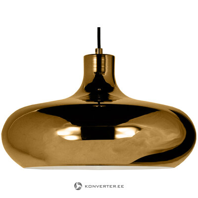 Золотой потолочный светильник lounge (анета)