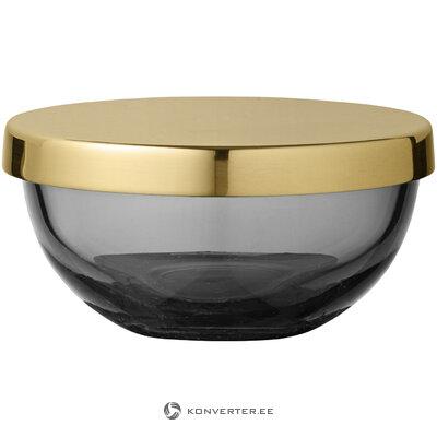 Контейнер для хранения серо-золотой тота (айтм)