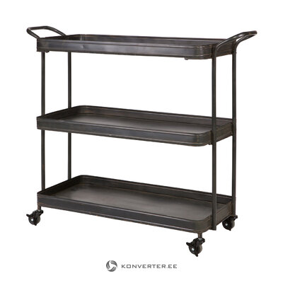 Black serving trolley (bepurehome)