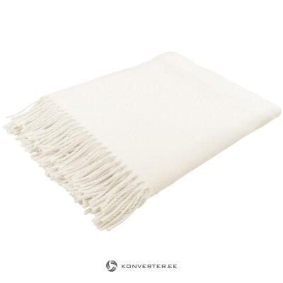 Valkoinen ruudullinen conny (biederlack) (laatikossa, koko)
