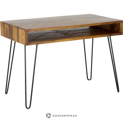 Письменный стол из массива (скайпорт) (в коробке, целиком)