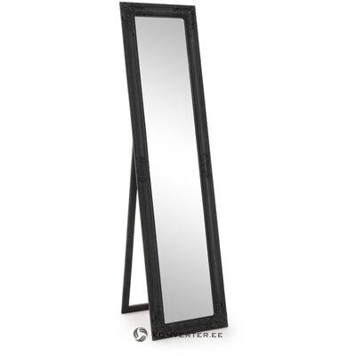 Серое напольное зеркало miro (bizzotto)