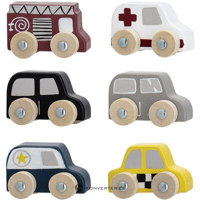 Žaislinių automobilių rinkinys 6 dalių (bloomingville)