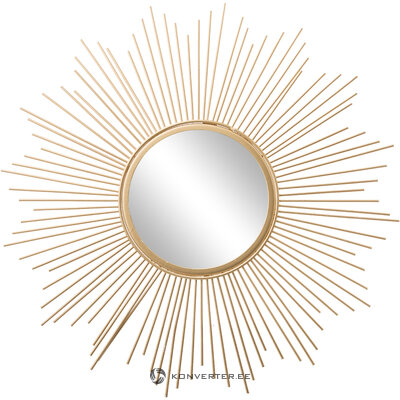 Golden design mirror (brooklyn) (with flaws, hall sample)