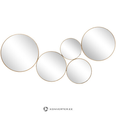 Design wall mirror spindle (broste copenhagen) (in box, whole)