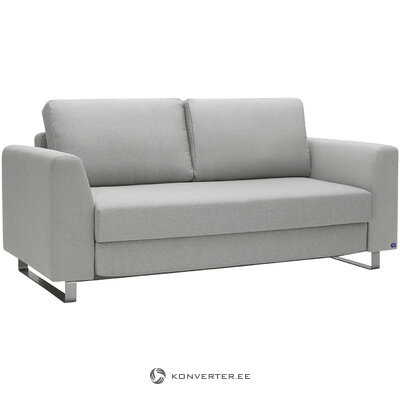 Light gray sofa bed (bruno) (whole)