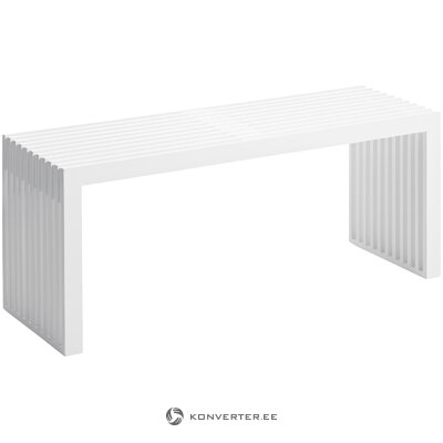White bench rib (cinas) (with beauty defects. Hall sample)