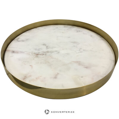 Marble tray edfe (coach house) (beauty defect hall sample)