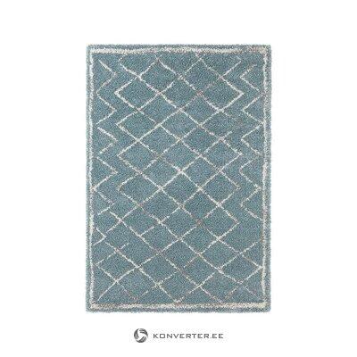 Zaļš rakstu paklājs (Hanzas mājas)