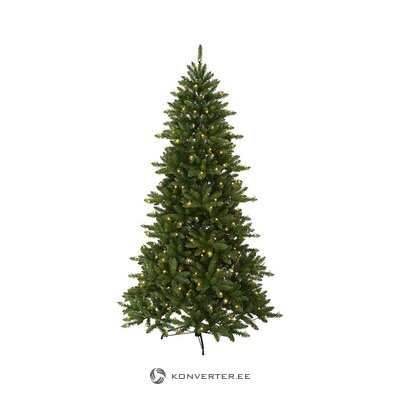 Green artificial spruce (best season) (in box, whole)