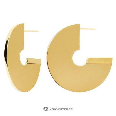 Gold earrings (pd paola) (whole, in a box)