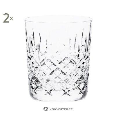 Kristāla stikla komplekts (2gab.) (Karaliskais skots)