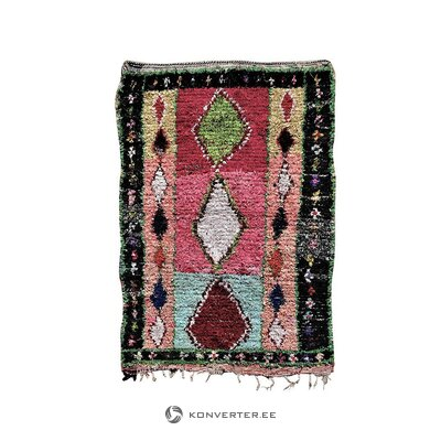 Vintage style rug (tribal art) (whole, in box)