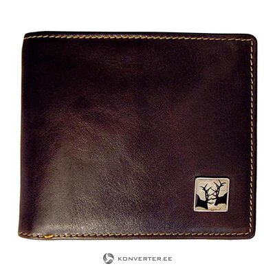 Leather wallet (tyler and tyler) (whole, in a box)