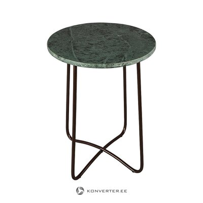 Green-black marble coffee table (dutchbone) (with beauty defect ,, hall sample)