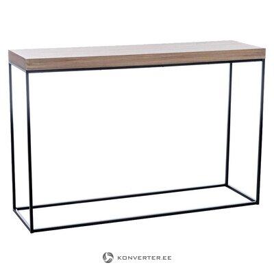Melni brūns konsoles galds (Aleksandra māja) (vesels, kastē)