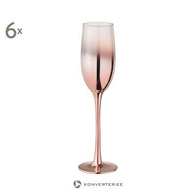 Šampanieša glāžu komplekts 6 gab. (Jolipa) (vesels, kastē)