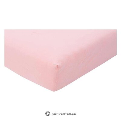 Pink bed sheet (kneer) 180x200