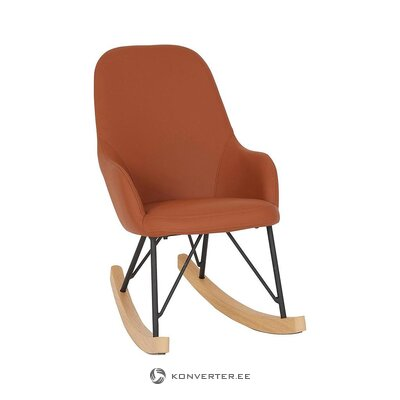 Orange armchair (martinsen)