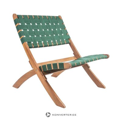 Folding green chair (leitmotiv)
