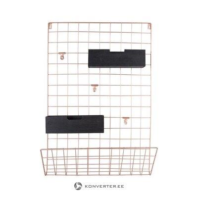 Metalinė sieninė lentyna (šiuo metu) (dėžutėje, visa)