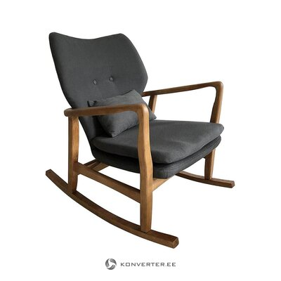 Brown-gray rocking chair (santiago pons) (healthy, in box)