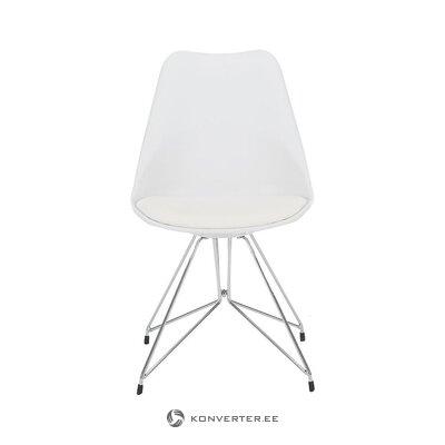Balts krēsls (salona interjers) (vesels, kastē)