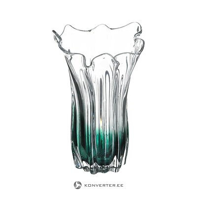 Glass flower vase (house living) (whole, in a box)