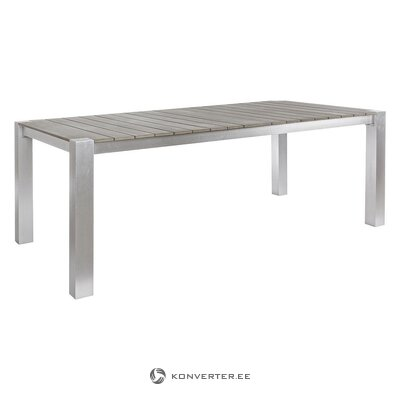 Gray garden table (otis) (with beauty defects., Hall sample)