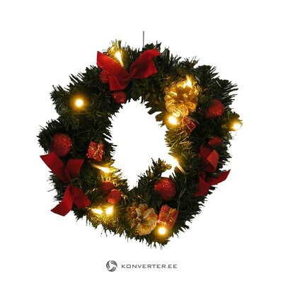 Christmas wreath (best season) (whole, hall sample)