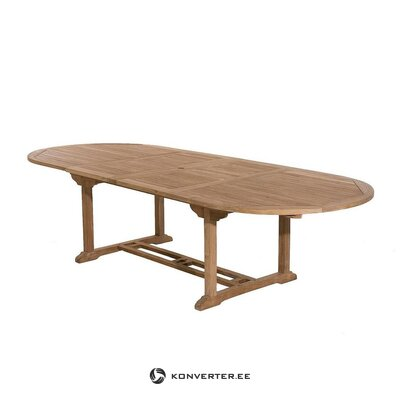 Oval extendable garden table (dpi)