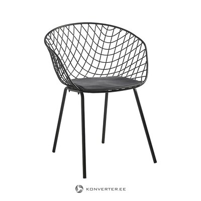 Black design chair (camino a casa)