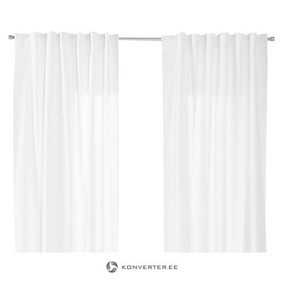 White curtain set (jotex)