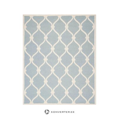 Light blue-white carpet (safavieh) (in box, whole)