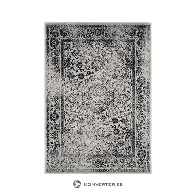 Black-gray patterned carpet (safavieh) (in box, whole)