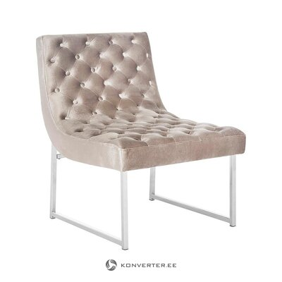 Beige design armchair (safavieh)