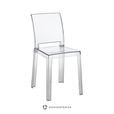 Transparent design garden chair (tomasucci)