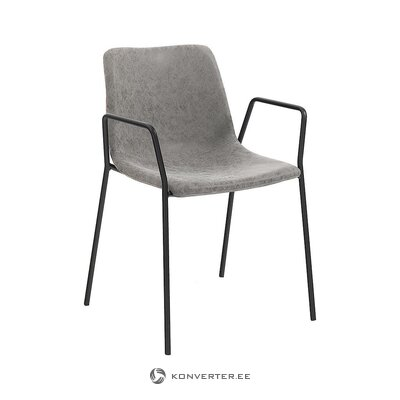 Gray-black design chair (tomasucci)