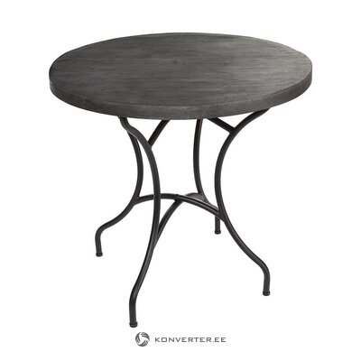 Black garden table (pols potten) (with beauty defects hall sample)