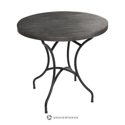 Melns dārza galds (pols potten) (vesels, kastē)