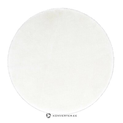 White round carpet (valencia) (whole, hall sample)