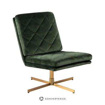 Green swivel chair (actona)