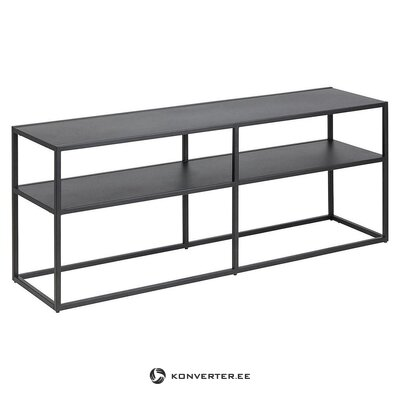Black console table (actona) (whole, in box)
