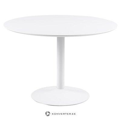 Balts pusdienu galds (Actona) (iesaiņots, vesels)