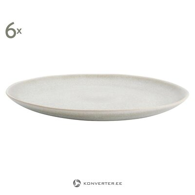 Set of plates 6 pcs (aerts) (whole, in a box)
