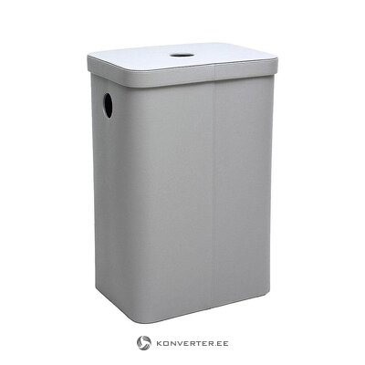 Gray laundry basket (aquanova) (healthy, sample)
