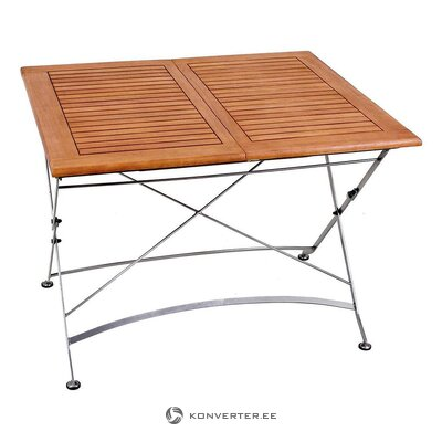 Extendable garden table (harms import)