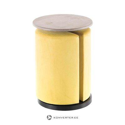Стол журнальный дизайнерский (дом александры) (ящик, цельный)
