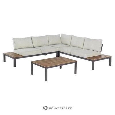 Garden furniture set (bizzotto) (plan, in box)